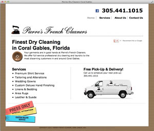 Pierre's Dry Cleaners